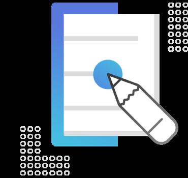 Ilustração para o bloco Elaboração