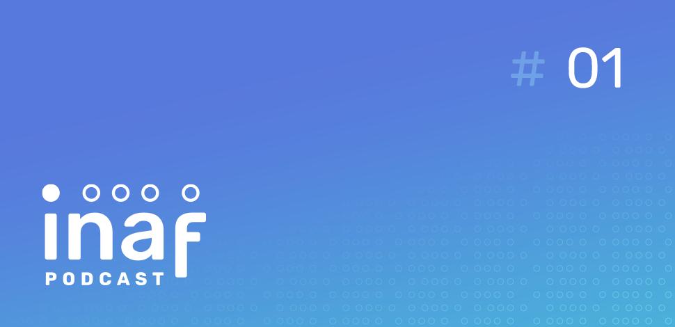Logotipo do Podacast do Inaf